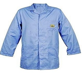 ESD Jacket  Blue, Green, Electrostatic Discharge