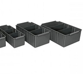 Panda Shelf Bins Conductive Stores Bins